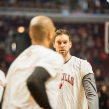 Pau Gasol, Chicago Bulls.United Center, Chicago. Illinois.